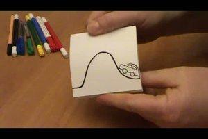 Daumenkino zeichnen - Anleitung
