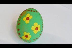 Ostereier bemalen - Motive für Kinder
