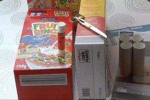Ritterburg - Spielzeug aus Karton selber bauen
