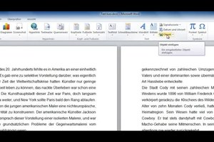 PDF in Word einfügen - so geht's