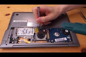 Laptop-Kühler reinigen - so wird es gemacht