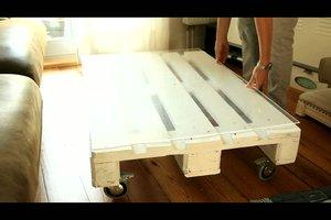 Möbel aus Paletten selber bauen