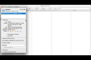Wo kann ich beim Mac sehen, wieviel Speicherplatz vorhanden ist? - So gelingt es Ihnen