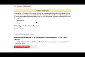 Wie kann ich mein Google-Konto löschen? Anleitung