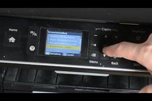 Beim Epson-Drucker WLAN einrichten - so gelingt's