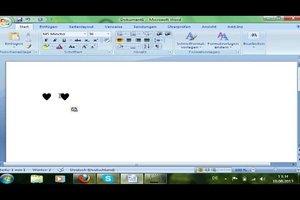 Herzen mit der Tastatur machen - so klappen Sonderzeichen