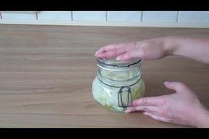 Kohlrabi einkochen - einfach und schnell