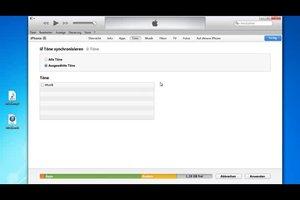Musik als Klingelton beim iPhone 4 verwenden