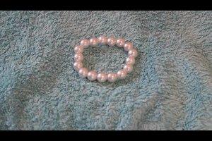 Perlenschmuck reinigen - Anleitung