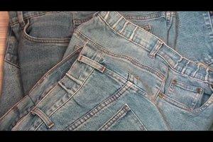 Eine Jeans enger machen - so geht's unauffällig