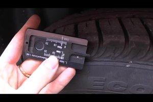 Reifentiefe messen - so machen Sie es richtig
