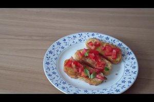Brot rösten für Bruschetta - so gehen Sie vor