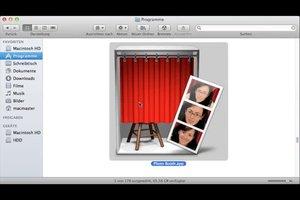 iMac - ein Foto machen Sie so