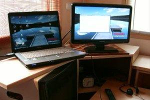 So können Sie ihren Laptop an den Fernseher anschließen