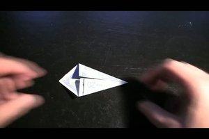Aus Geld eine Origami-Ente falten