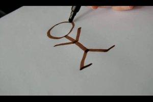 Strichmännchen zeichnen - so geht´s