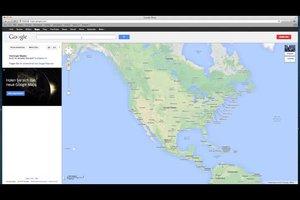 Bei Google Maps die Luftlinie ermitteln - so gelingt's