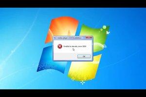 """""""Unable to elevate error 1814"""" - das sollten Sie beim VLC-Player beachten"""