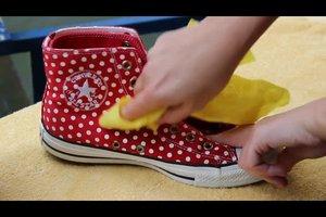 Converse waschen - darauf sollten Sie achten