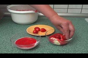 Erdbeermus selber machen