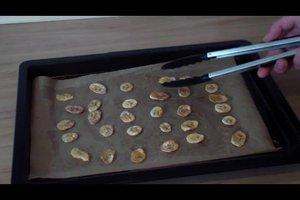 Getrocknete Bananen selber machen - Anleitung