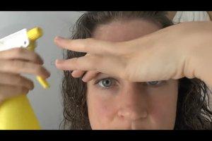 Haare bleichen mit Zitrone - so geht's