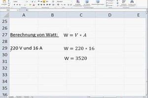 Volt-Watt-Umrechner - so gelingt Ihnen die Umrechnung