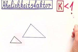 Ähnlichkeitsfaktor k - so berechnen Sie ihn