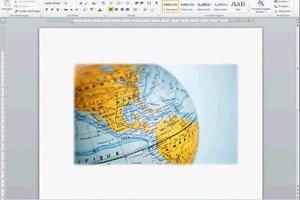 Erdkunde - ein Deckblatt zum Ausdrucken kreativ erstellen