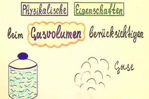 Gasvolumen berechnen - so gehen Sie vor