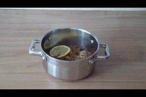 Pflaumenmus mit Gelierzucker kochen - Rezept