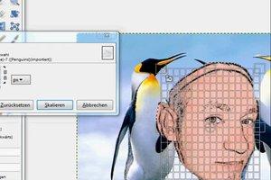 Kopf einsetzen auf einem Foto - so geht's mit der Freeware GIMP