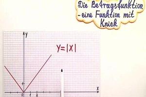 Betrag in Mathe - einfach erklärt und berechnet