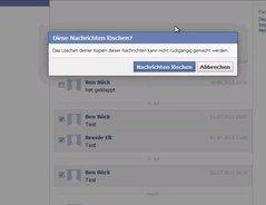 Facebook Mehrere Nachrichten Löschen