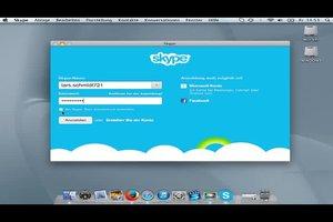 Bei Skype ausloggen - bei Mac geht's so