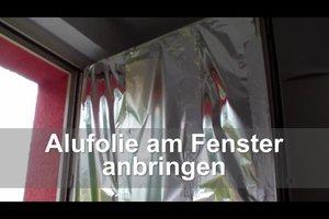 Alufolie als Sonnenschutz - so setzen Sie sie an Fenstern richtig ein