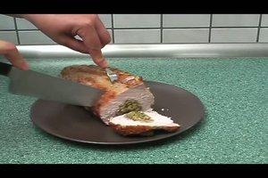 Schweinelachsbraten zubereiten - ein Rezept