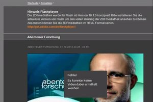 ZDF Mediathek: Probleme - so lösen Sie sie