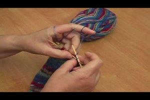 Strickmuster für Stulpen - Anleitung für Kinderstulpen