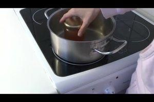 Einkochen mit Schraubgläsern - so gelingt es