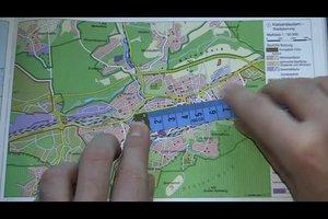 Maßstab 1:50000 - so rechnen Sie von der Karte richtig um