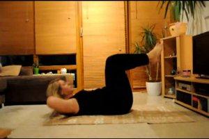 Übungen zum Bauchspeck loswerden