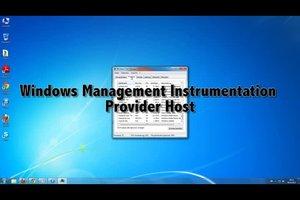WMI Provider Host - Hinweise