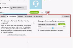Skype lauter stellen - so regulieren Sie die Lautstärke