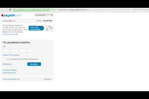 Paysafecard Mit Paypal Aufladen