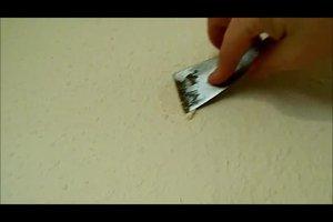 Löcher in der Wand zu machen - so geht's ohne Gips
