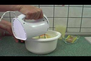 Sandkuchen ohne Speisestärke backen - ein Rezept