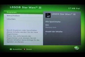 XBox 360: Savegames sichern - so geht's