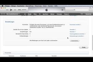 iTunes - eine Vorbestellung stornieren Sie so
