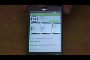 Android: TV gucken - so geht's